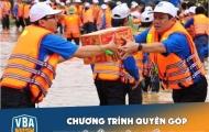 VBA quyên góp ủng hộ đồng bào lũ lụt miền trung