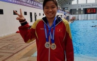 Phương Trâm giành 7 HCV, phá 3 kỷ lục tại giải bơi nhóm tuổi Đông Nam Á 2016