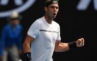Rafael Nadal thị uy sức mạnh, đối đầu 'số 1 của nước Đức'