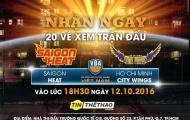 20 vé xem trận derby Sài Gòn cho fan bóng rổ