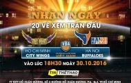 HOT: TinTheThao.com.vn tặng 20 vé xem play-off bóng rổ