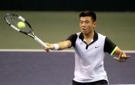 Hoàng Nam tụt liền 40 bậc trên bảng xếp hạng ATP