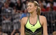Sharapova giữ thể lực thế nào?