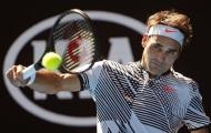 Federer chơi một trận tuyệt hay
