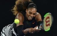 Serena thẳng tiến, 'lão bà' Baroni lập kỳ tích