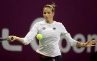 Hạ Wozniacki, Pliskova bay cao ở Qatar Open