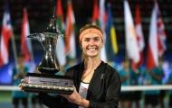Svitolina quật ngã Wozniacki để vô địch giải Dubai