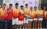 Quần vợt trẻ Việt Nam đứng hạng 4 chung cuộc