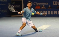 Djokovic thua sốc ở Acapulco