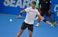 Nadal thổi bay Cilic, chờ Kyrgios ở chung kết Acapulco