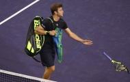 Indian Wells: Xuất hiện sao nam đập vợt tàn bạo nhất lịch sử
