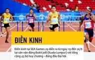 SEA Games 29: Điền kinh Việt Nam thêm tự tin