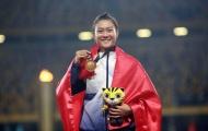 Vũ Thị Hương có truyền nhân trên đường chạy 100m