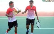 Quần vợt: Hoàng Nam/ Hoàng Thiên xuất sắc vào bán kết đôi nam