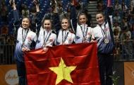 Thể dục nghệ thuật Việt Nam giành huy chương lịch sử ở SEA Games 29