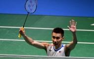 Lee Chong Wei tranh chức vô địch với tay vợt cao gần 2m