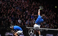Quá sung, Nadal suýt khiến Federer chấn thương