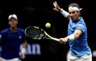 Nadal bất ngờ bại trận ở giải quần vợt Laver Cup
