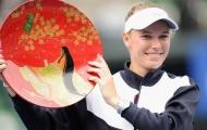 Wozniacki lần thứ ba vô địch Pan Pacific Open