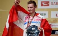 Viktor Axelsen lần đầu lên ngôi số 1 thế giới