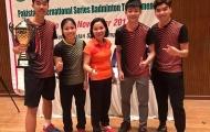 Tay vợt Lê Đức Phát gây sốc với danh hiệu chuyên nghiệp đầu tay