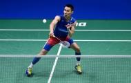 Lee Chong Wei vào bảng tử thần ở giải đấu triệu đô