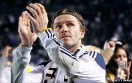 Beckham bất ngờ muốn ký hợp đồng mới với Galaxy