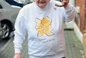 Cụ bà 84 tuổi được giao cầm đuốc Olympic 2012