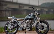 Motor Guzzi V50 theo phong cách Nhật Bản
