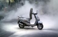 Phát hiện xe máy cháy do chập điện