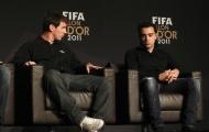 Leo Messi 'chia nửa' bóng vàng cho Xavi