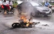 15-1 có kết quả vì sao cháy xe