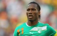 Drogba ghi bàn thắng thứ 50 cho đội tuyển Bờ Biển Ngà