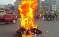 Đáp số của hiện tượng tự cháy xe gắn máy