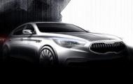 'Hàng tuyển' Kia K9 Sedan qua hình ảnh phác họa