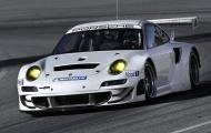 Porsche 911 GT3 RSR 2012 lăn bánh trên đường đua