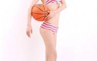 Người đẹp bóng rổ Trung Quốc đẹp như nhân vật hoạt hình
