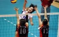 Giải bóng chuyền nữ quốc tế VTV - Bình Điền 2012: Tiếc cho đội khách