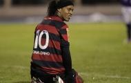 Ronaldinho hứng thịnh nộ từ cổ động viên Flamengo