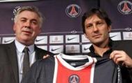 Ancelotti tin Leonardo sẽ không rời PSG