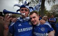 Fan Chelsea mừng tân Vương châu Âu