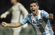 Argentina lên đỉnh nhờ 'bộ tứ nguyên tử'