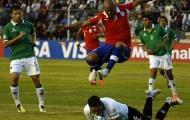 Vòng Loại World Cup 2014: Paraguay chìm sâu, Chile lên ngôi đầu