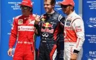 Vettel áp đảo tại vòng phân hạng Canada GP