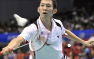 Tiến Minh thẳng tiến tại giải cầu lông Indonesia mở rộng