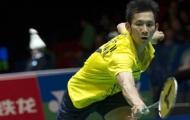 Giải cầu lông Singapore mở rộng: Tiến Minh hạ 'đo ván' Ajay Jayaram