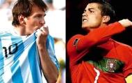 Messi vẫn vượt Ronaldo trong cuộc đua Quả bóng vàng