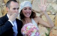 Chùm ảnh: Iniesta tươi như hoa trong ngày cưới
