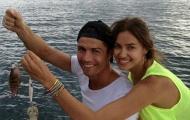 Ronaldo cùng Irina trổ tài câu cá ở Thái Lan