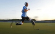 'Người không chân' Oscar Pistorius hoàn thành giấc mơ Olympic